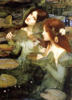 Hylas et les nymphes par William Waterhouse (1896)