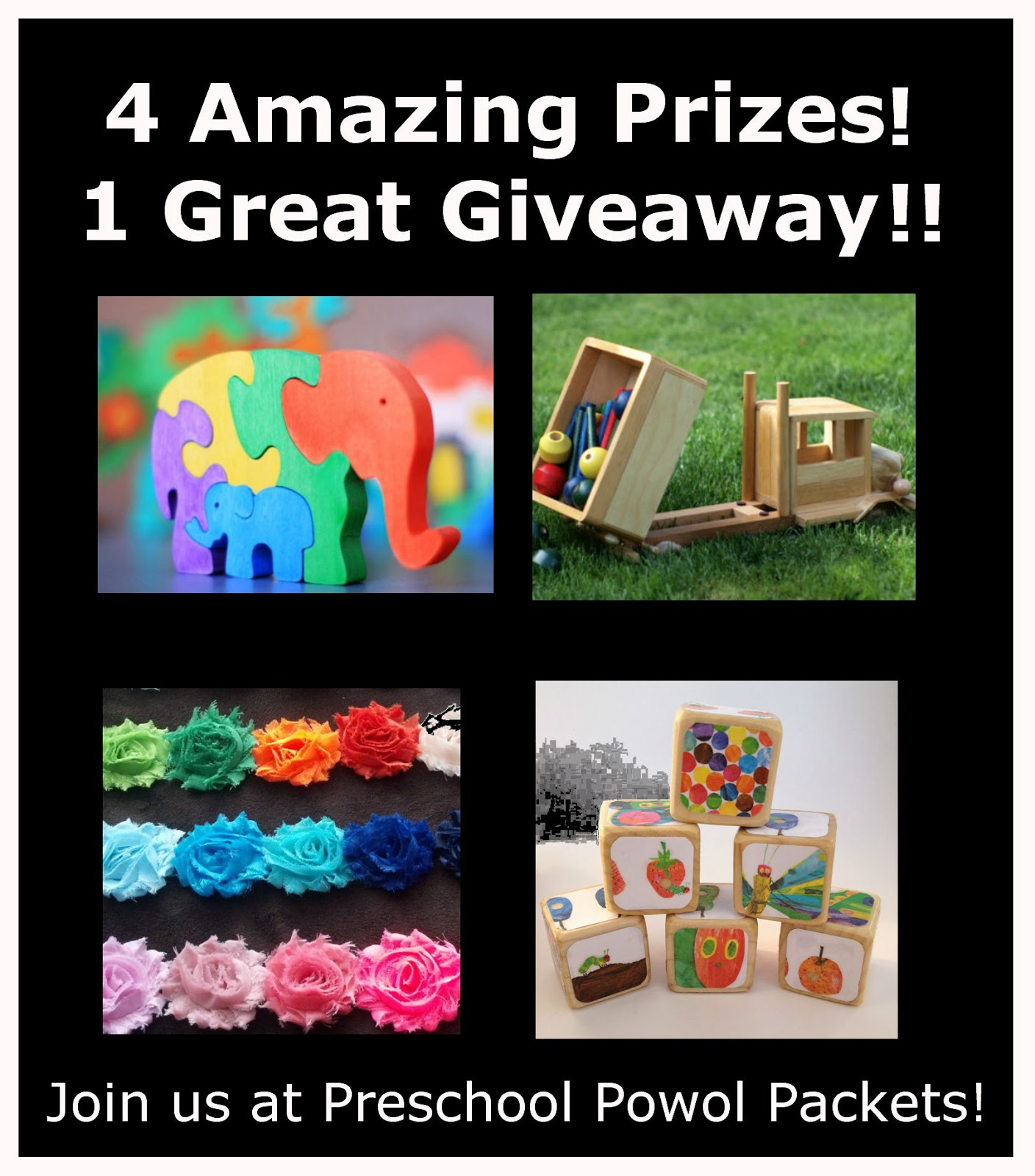 Preschool Giveaway!!  4 Winners!!