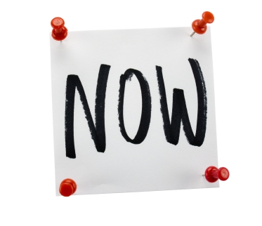 Linguistics Research Digest: 'Now', a little word that matters