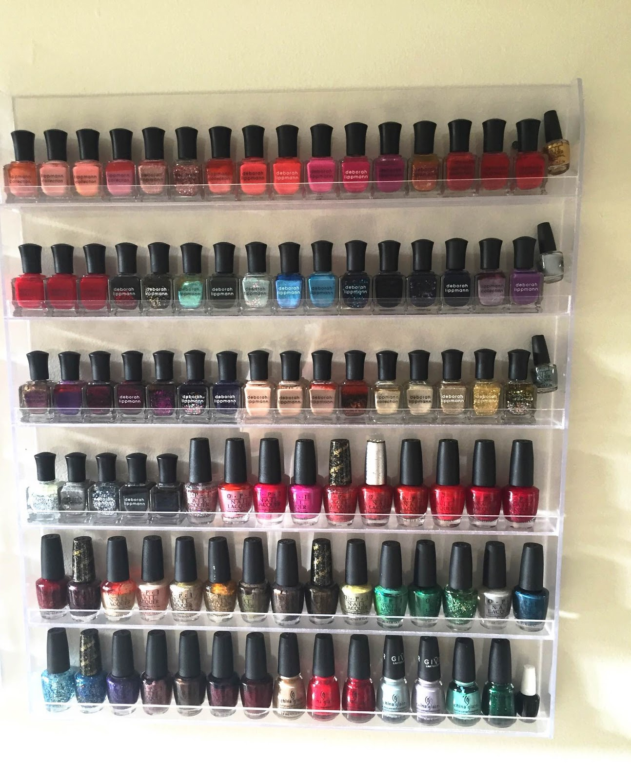 Do it yourself nail polish holder absolute cycle do it yourself nail polish holder solutioingenieria Choice Image