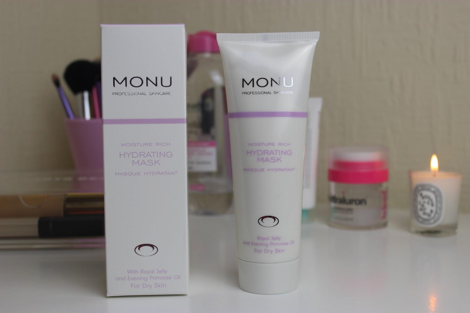 Monu Moisture Rich Hydrating Mask Northern Gloss