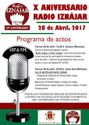 X Aniversario Radio Iznájar