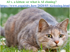 AI v. a kitten: or what is AI cloning? (click on the picture).
