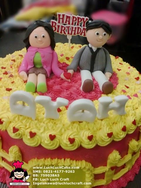 kue tart anniversary pasangan