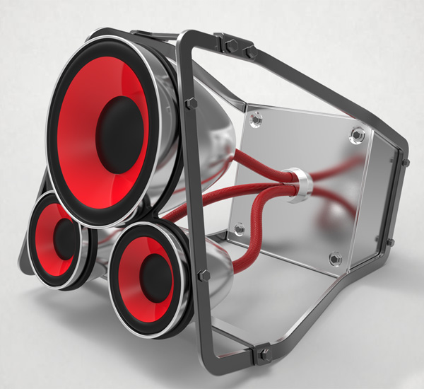 SOYUZ Speaker - Portable Speakers for iPhone