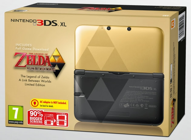 Nintendo confirmed to release The Legend of Zelda of 3DS XL in North America