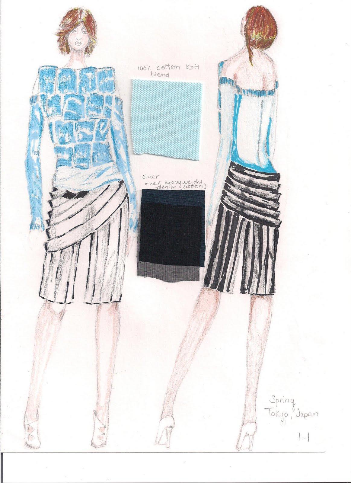 fashion illustration quiz fit fashion student portfolio design test