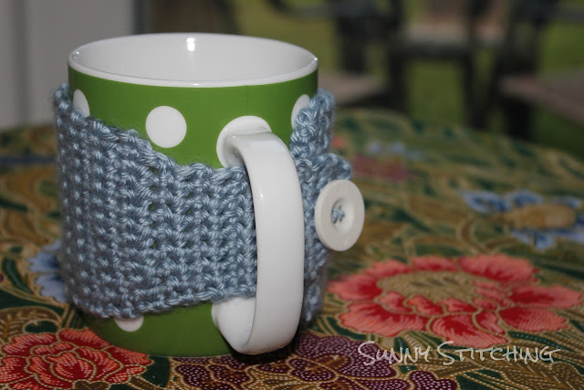 Crocheted Mug Cozy | Sunny Stitching