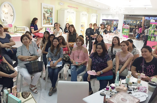 A photo of Benefit Workshops at SM Megamall