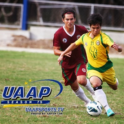 FEU versus UP in UAAP 76 Men's Football Finals (airing live at ABS-CBN S+A and livestream via studio23.tv)