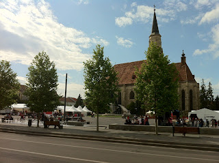 Piata Unirii din Cluj