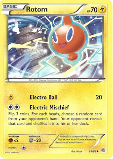 Rotom Ancient Origins Pokemon Card