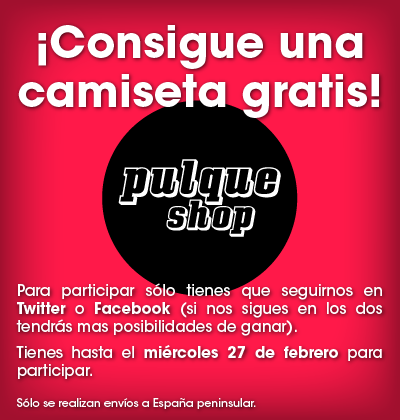 Concurso camiseta Pulque Shop