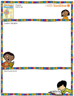 Mindsets for the Classroom blank frame-   Hello Sunshine Blog