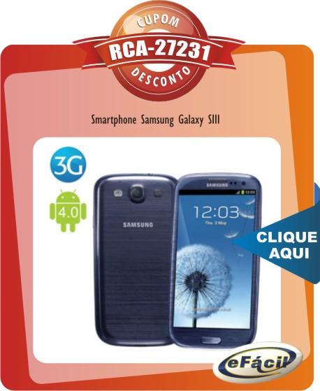 Smartphone Samsung Galaxy SIII