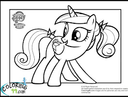 My Little Pony Friendship Is Magic Babies Coloring Pages