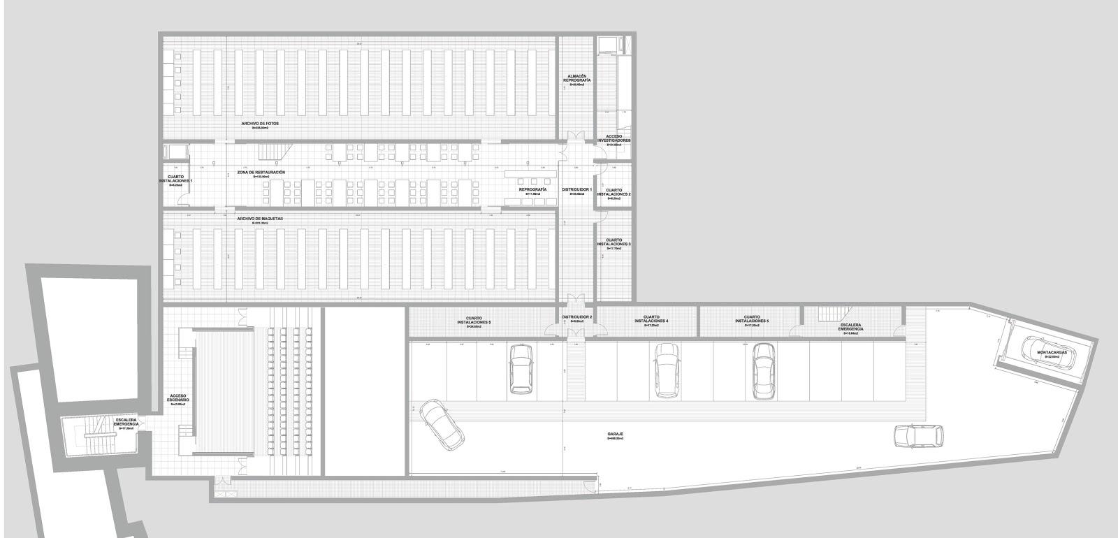 Jgg arquitecto pfc centro de arquitectura moderna en - Arquitectos en salamanca ...
