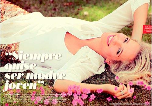 Luisana Lopilato en portada de Revista Viva