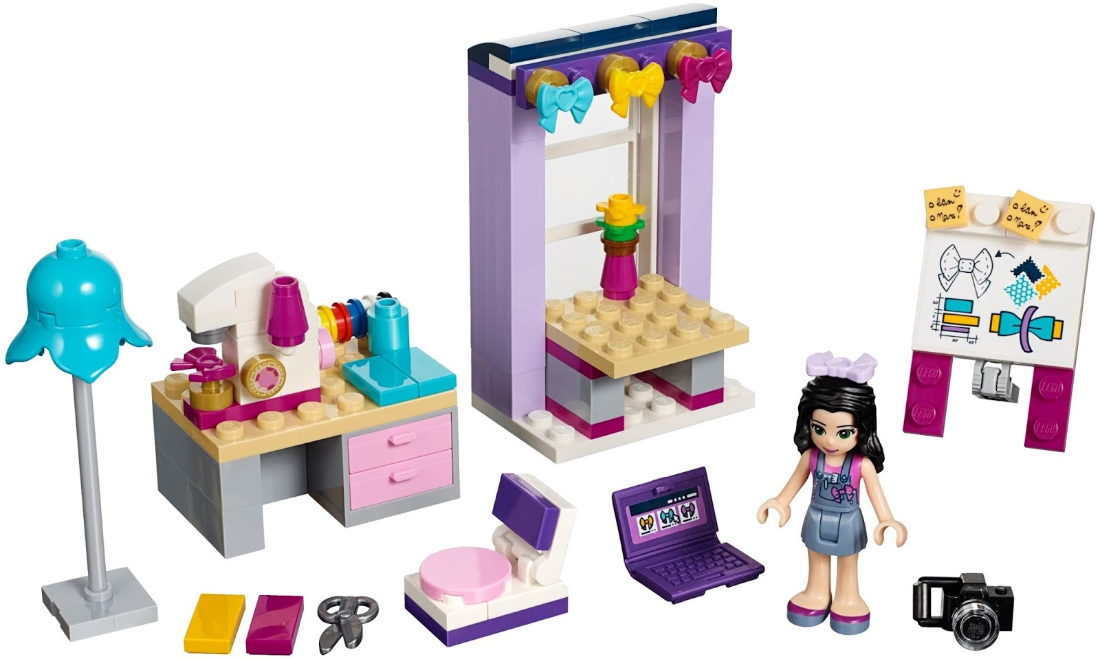 Lego Friends Fashion Design Studio