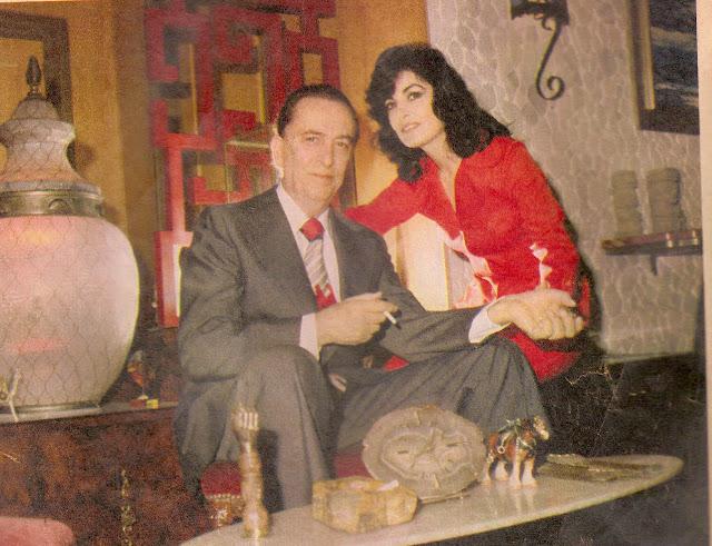 Hugo del Carril y Violeta Courtois