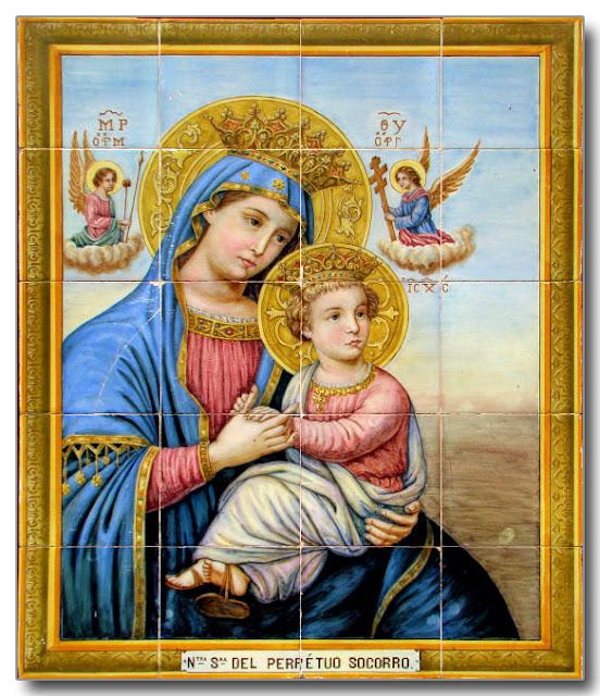 Nuestra Señora del Perpetuo Socorro.