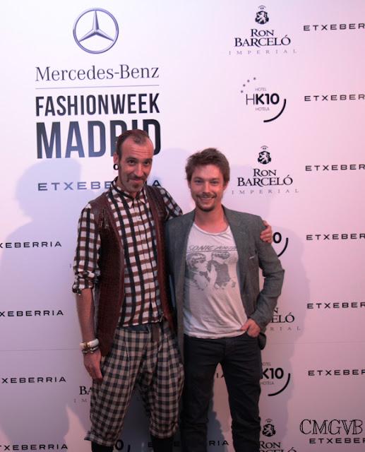 cmgvb, como me gusta vivir bien, Etxeberria, la piel del sur, piel, mercesdes benz fashion week, Ron Barcelo, Jan Carnet, Roberto Etxeberria