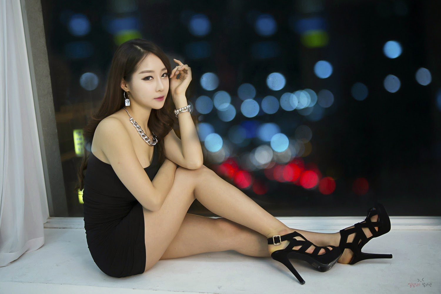 1 Lovely Eun Ji Ye In Studio Photo Shoot - very cute asian girl-girlcute4u.blogspot.com