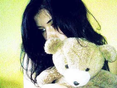 Cool Girl Hidden Face Fb Dp, Hidden Face Facebook Dp For Girls 2014-2015, alone girl dp for fb, Sad Alone Girl, Sad Lonely Girl, Lonely Girl Hidden Face, Hiding Face Girl With Teddy Bear, Girl Hide Her Face With Teddy Bear