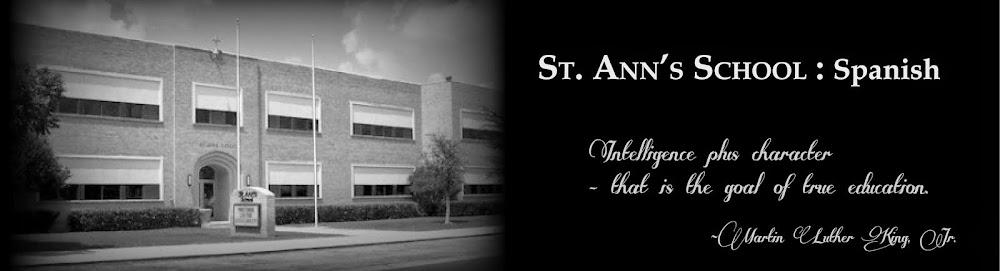 St. Ann's Spanish