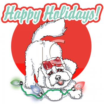 Funny Christmas Happy Holidays Clip Arts
