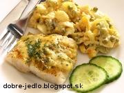 Pečená ryba so syrom - recept