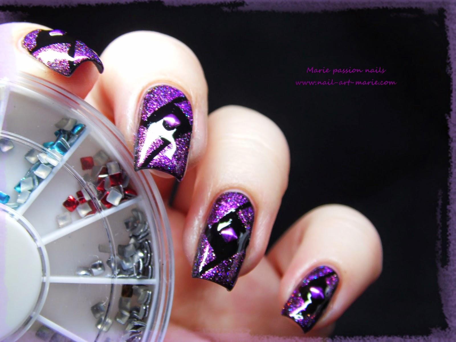 Nail Art Studs Géométrique3