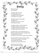 Similies Study Resources based on the Poem Willow and Ginkgo