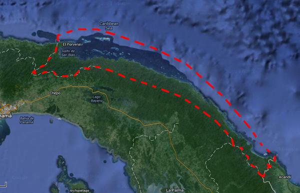 Παναμάς, νησιά σαν μπλας, νησιά καραϊβικής, καραϊβική,