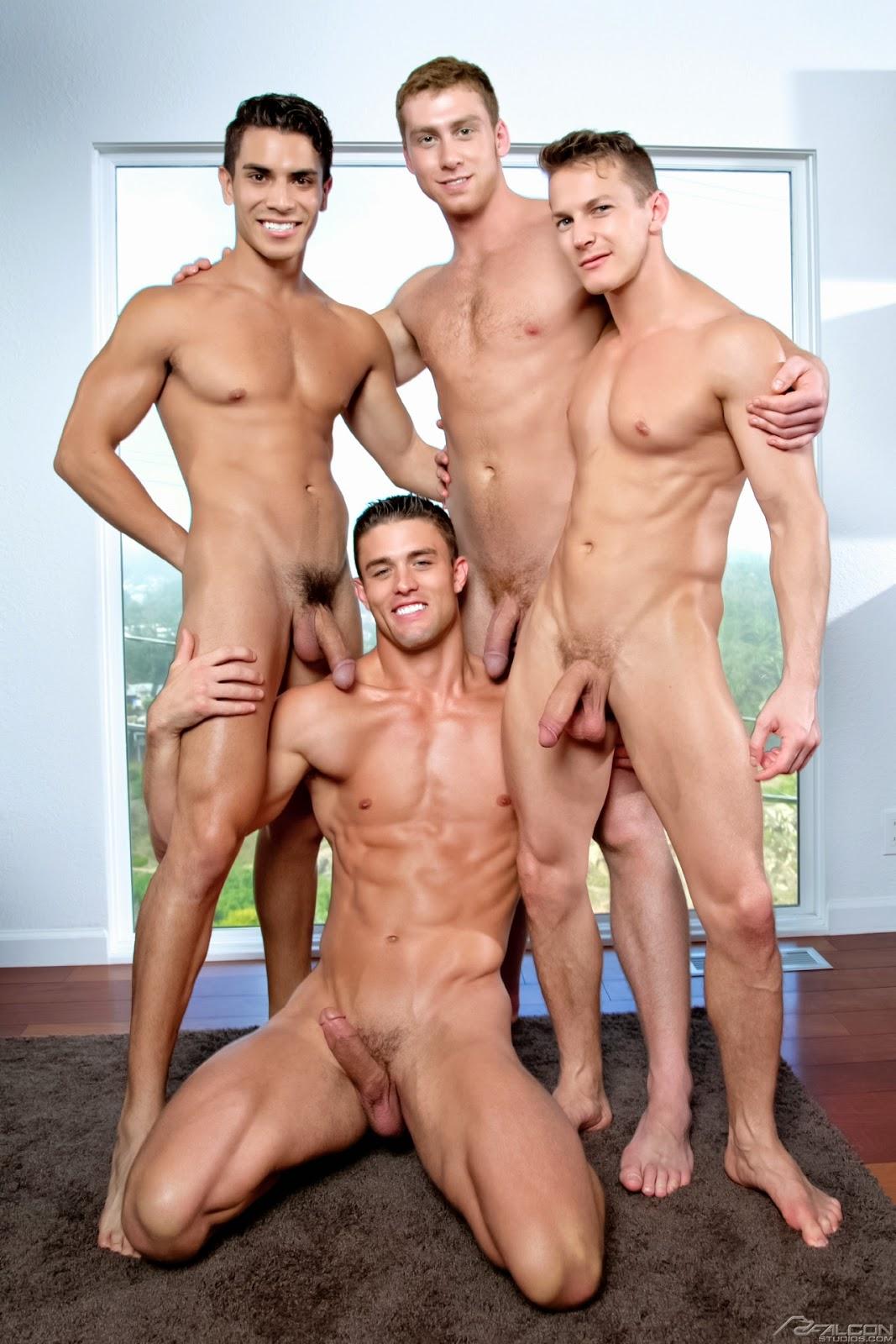 Naked Gay Men Together