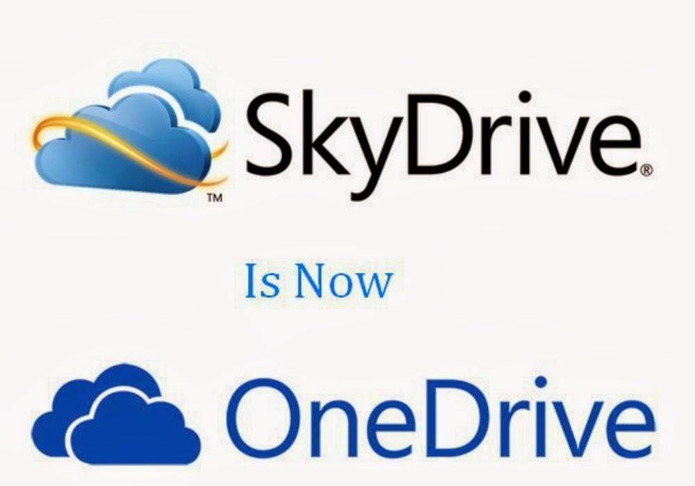 SkyDrive هو بالفعل OneDrive و يعطينا المزيد من مساحة التخزين