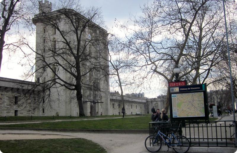 París - Chateau de Vincennes