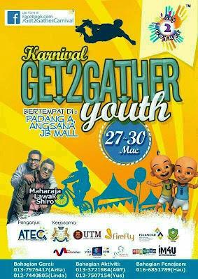 GET2GATHER YOUTH, Plaza Angsana JB
