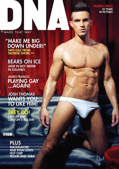 Gaz from Geordie Shore by Simon Le for DNA Magazine #158