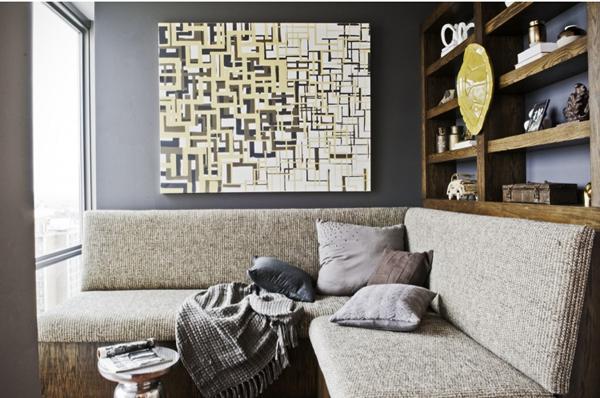 The design daredevil on tv mimosa lane - Wall art for bachelor pad living room ...