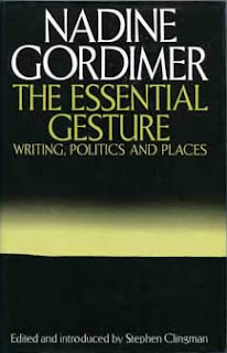 nadine gordimer the essential gesture