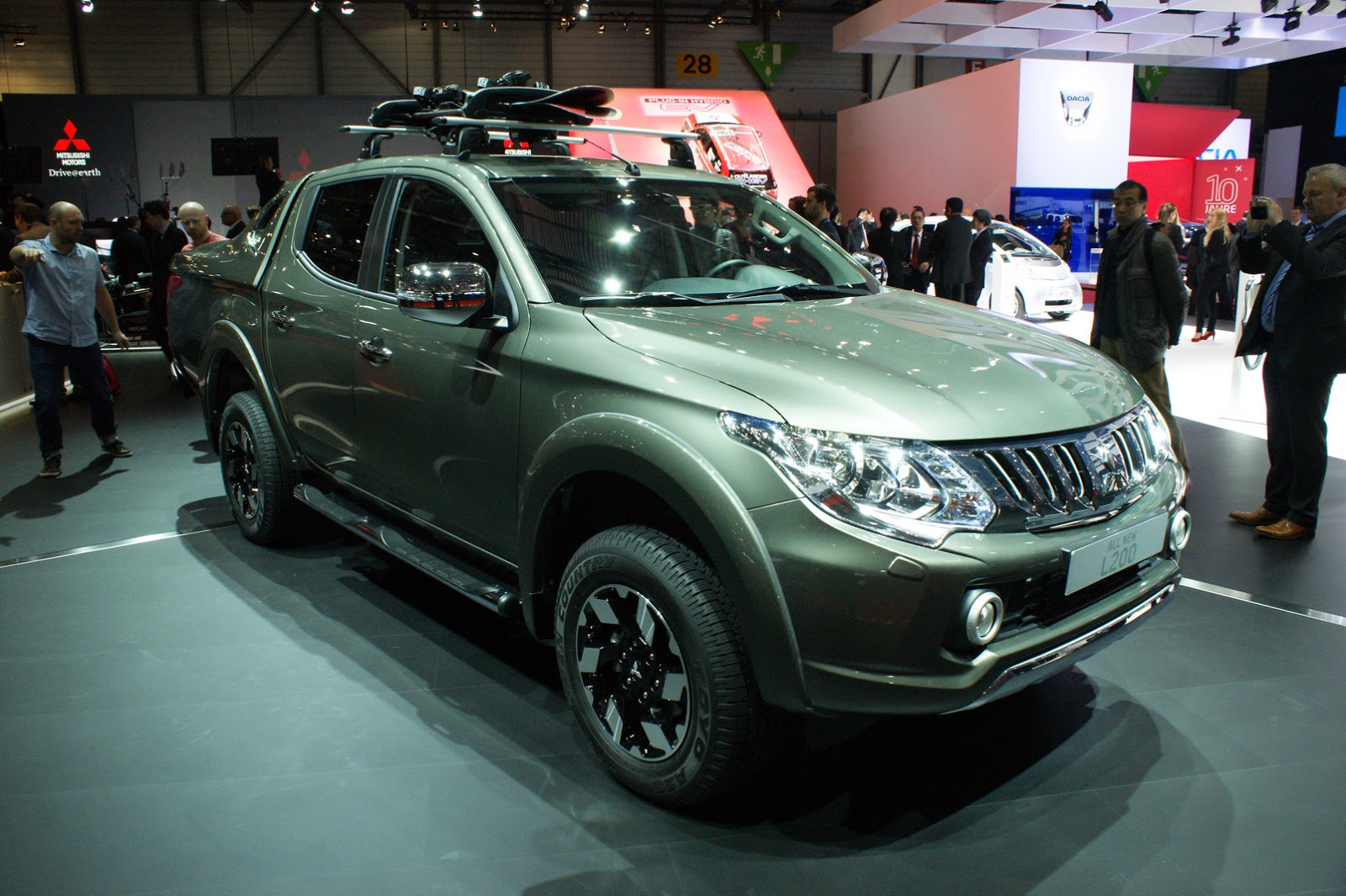 Mitsubishi Pulls The Wraps Off All-New L200 For Europe