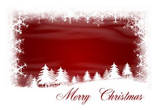 tarjetas de navidad para escribir