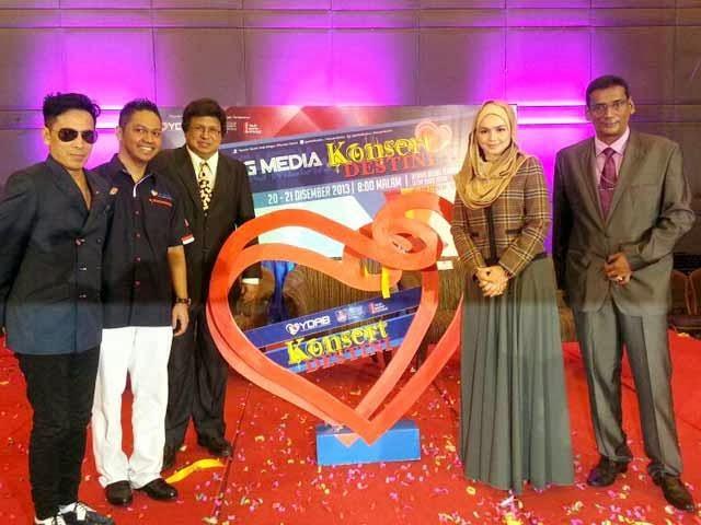 Siti Nurhaliza, Amy Search, Rossa, Afgan, Dayang Jayakan Konsert Destini
