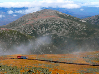 Cog Railroad can take you to the top of Mt. Washington
