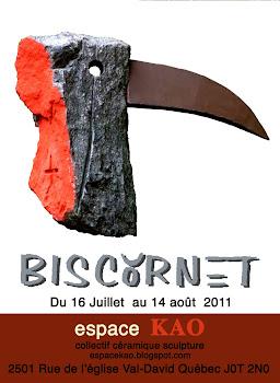 Jean Bisson Biscornet. 2011