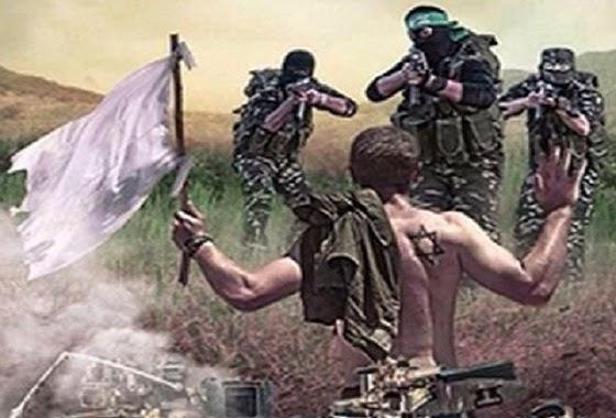 Zionis Israel menyerah - ilustrasi
