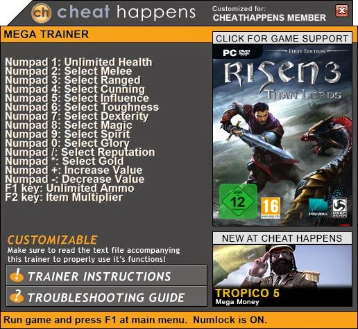 risen trainer