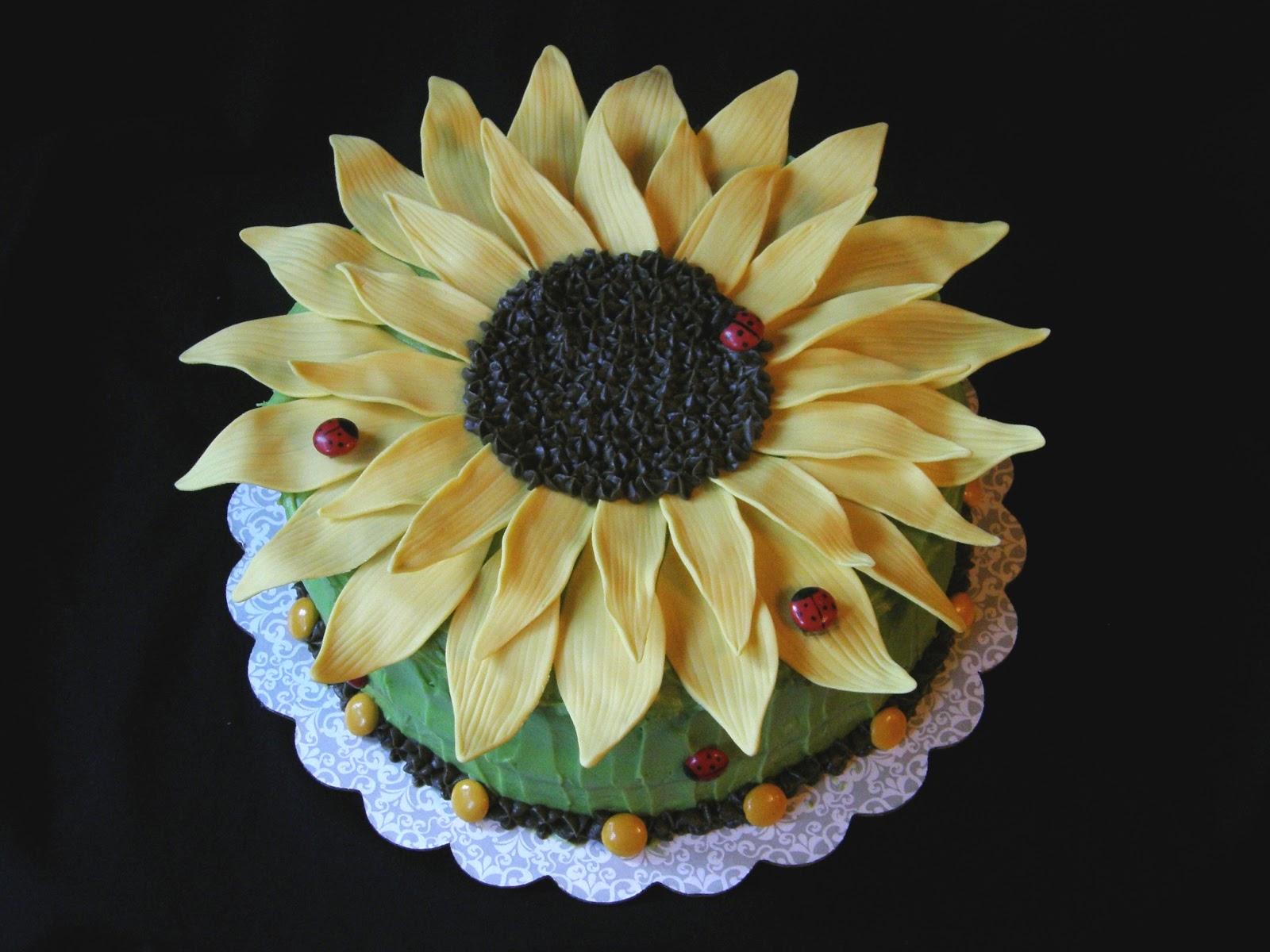 Mrs. Lydia's Kitchen: Sunflower Cake
