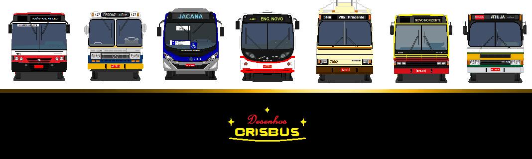 Desenhos de Ônibus Crisbus